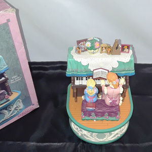 """Enesco """"The Duet"""" Action Wind Up Musical Box"""